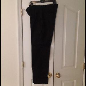 Express Producer Modern Fit Men's Black Pants